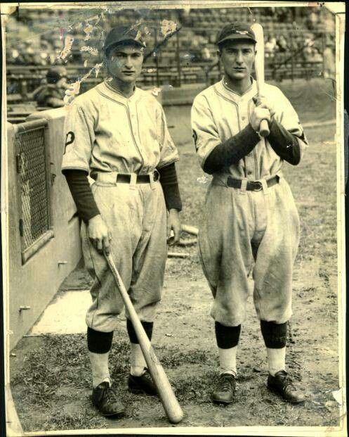 Waner brothers. Hold record for most hits by brothers and in Hall of Fame.