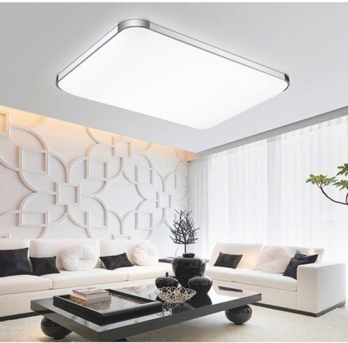 Gross 72W LED Deckenleuchte Deckenlampe Wohnzimmer  Leuchte Dimmbar Fernbedienung