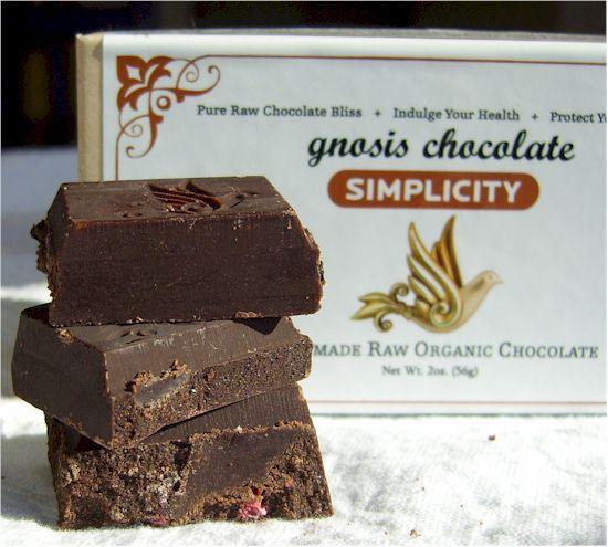 Gnosis Raw Chocolate Bars - Vegan, Dairy-Free