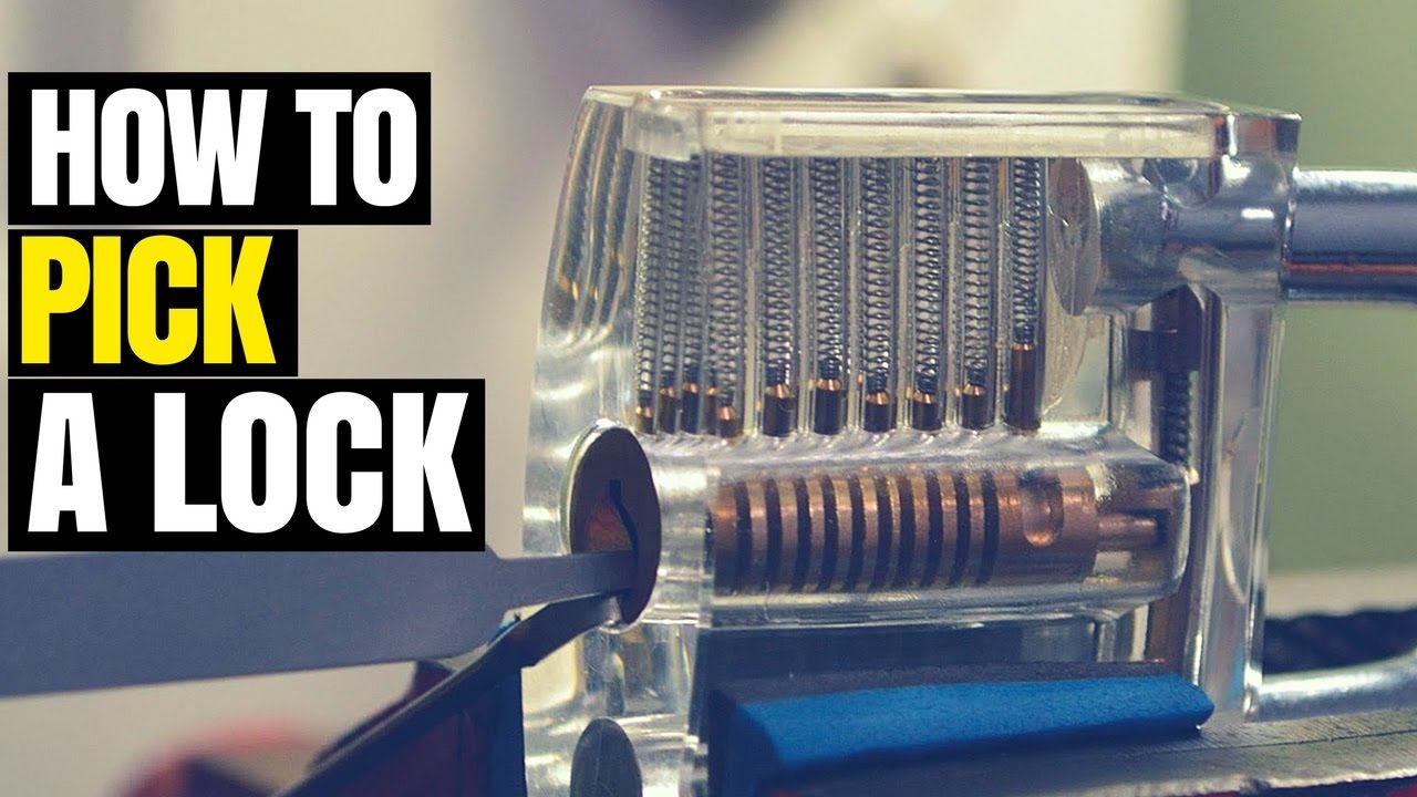 How to pick a lock how to pick a lock with a bobby pin