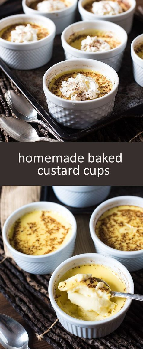 Baked Custard Recipe {Easy Old Fashioned Amish Recipe}