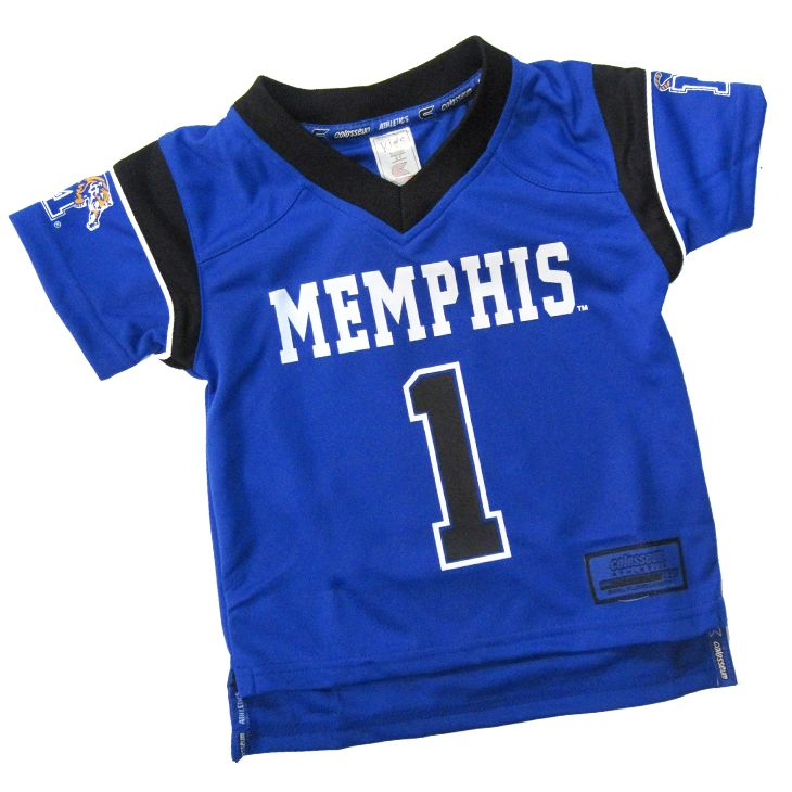 superior quality 6be73 64de3 Memphis Tigers Toddler Football Jersey | Tiger gear we love ...