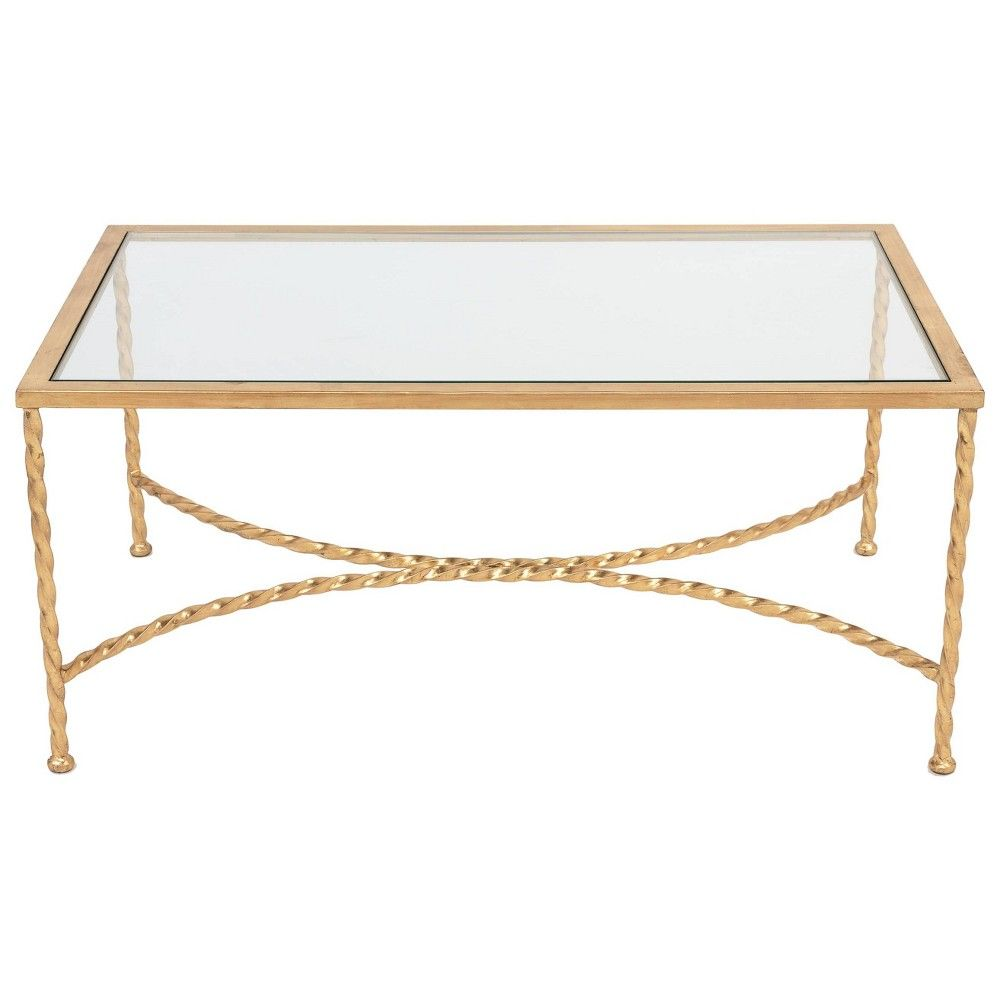 Coffee Table Gold Black Safavieh In 2021 Gold Coffee Table Glass Top Coffee Table Coffee Table [ 1000 x 1000 Pixel ]