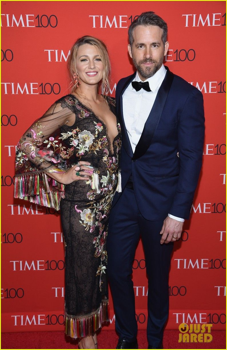 Ryan Reynolds Brings Wife Blake Lively & Mom Tammy to Time