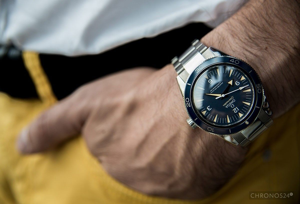 Review Of Omega Seamaster 300m