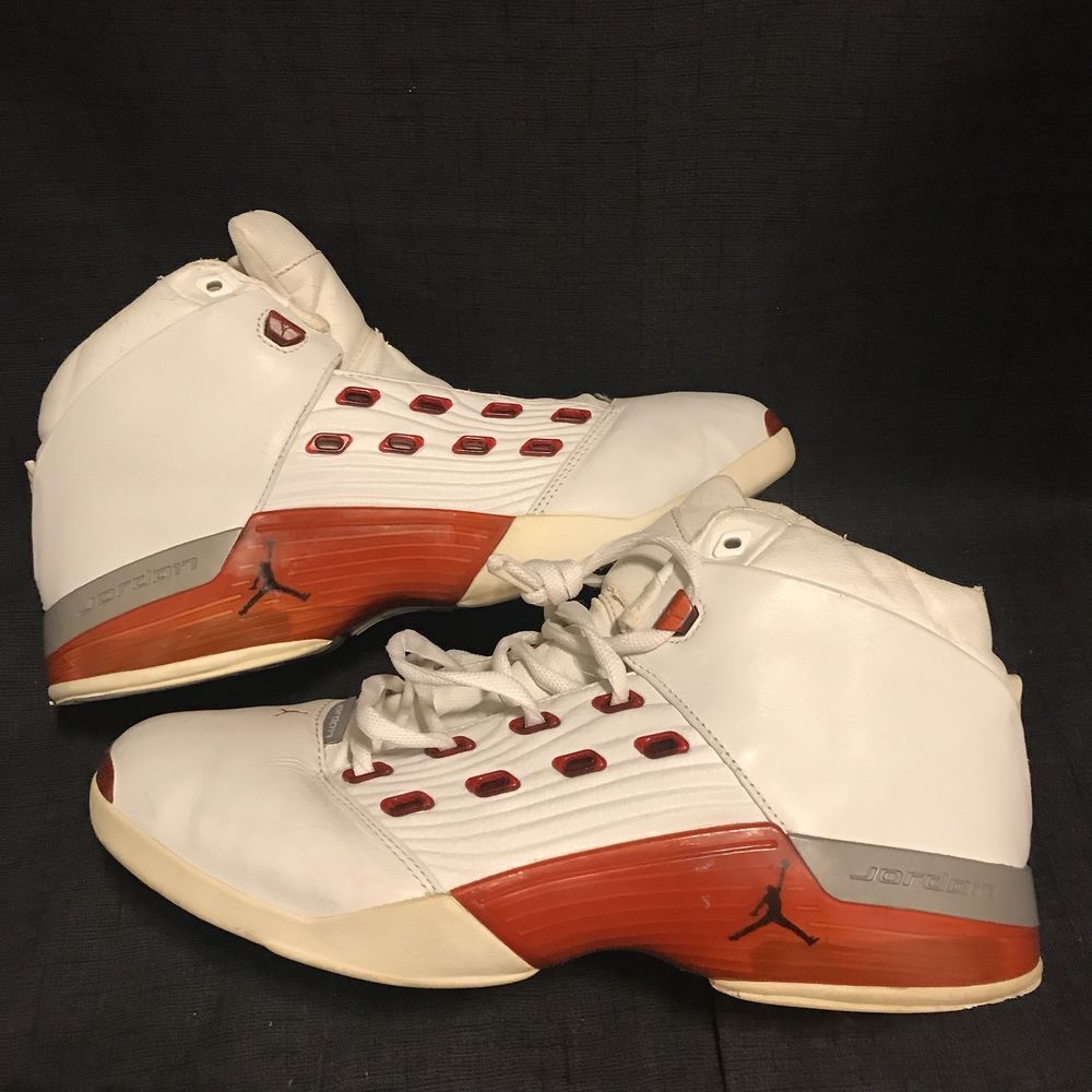 898649579ee Air Jordan 17 XVII OG (2002) Varsity Red Size 12 #fashion #clothing #shoes  #accessories #mensshoes #athleticshoes (ebay link)