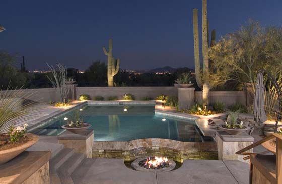 Award winning arizona pool designs by california pools for Pool design phoenix