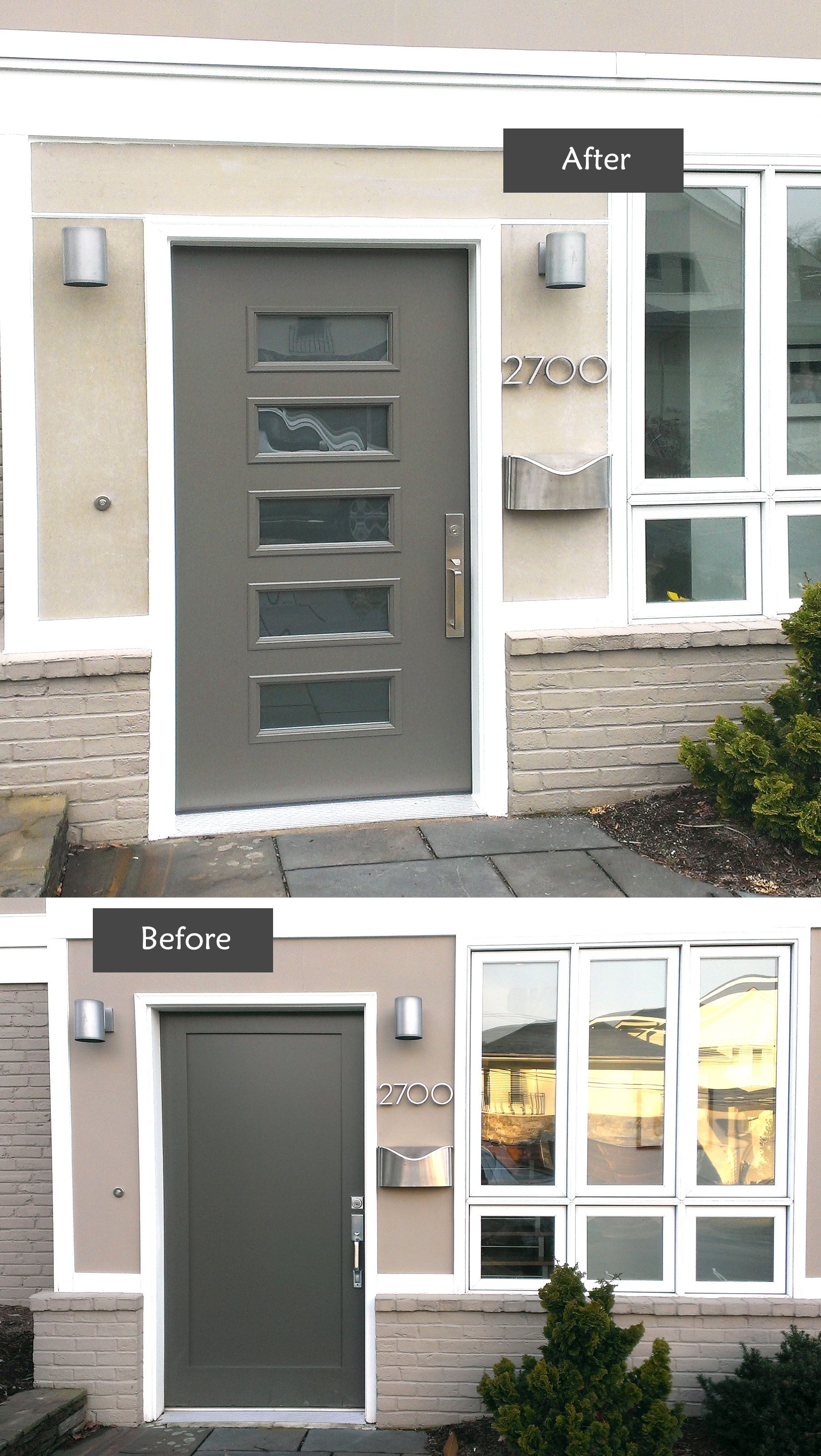 This Project Is To Replace A Builder S Grade 42 Wide Mansonite Entry Door That Had Swollen And Sagged Extreme Effort Requ Entry Doors Small Entry Steel Doors