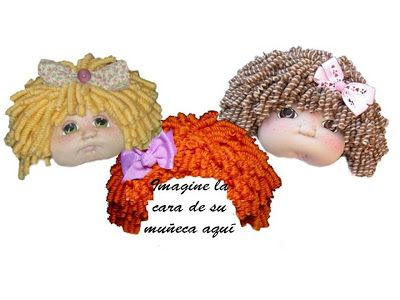 JF DOLLS CREATION: Como hacer rizos con lana para muñecos