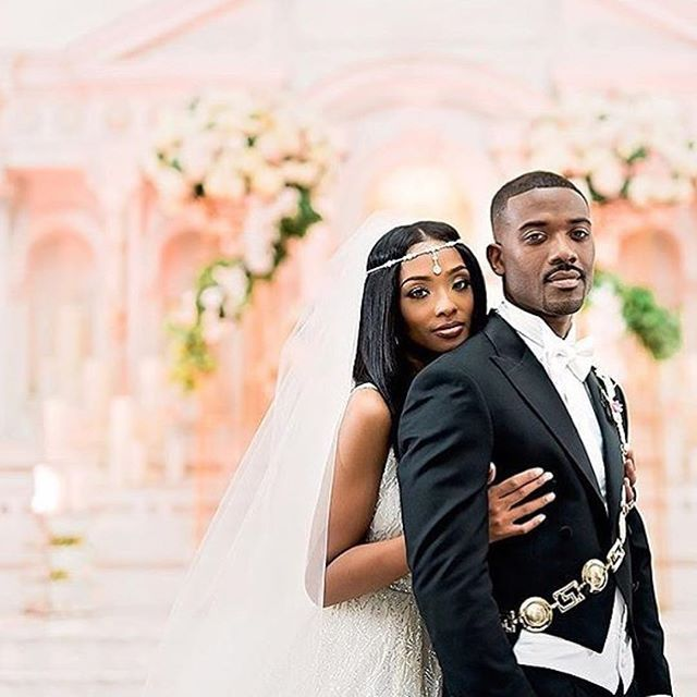 Celebrity Wedding Locations: #RayJ #PrincessLove #Wedding ️ ••