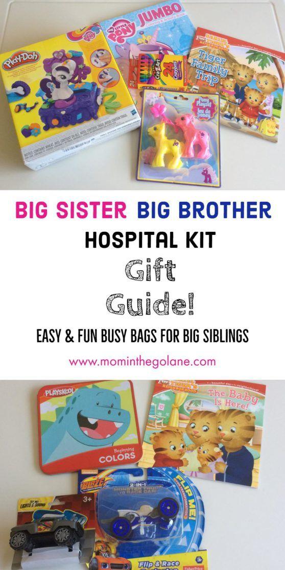 Big Sister/Big Brother Hospital Kit Gift Guide! | Big ...