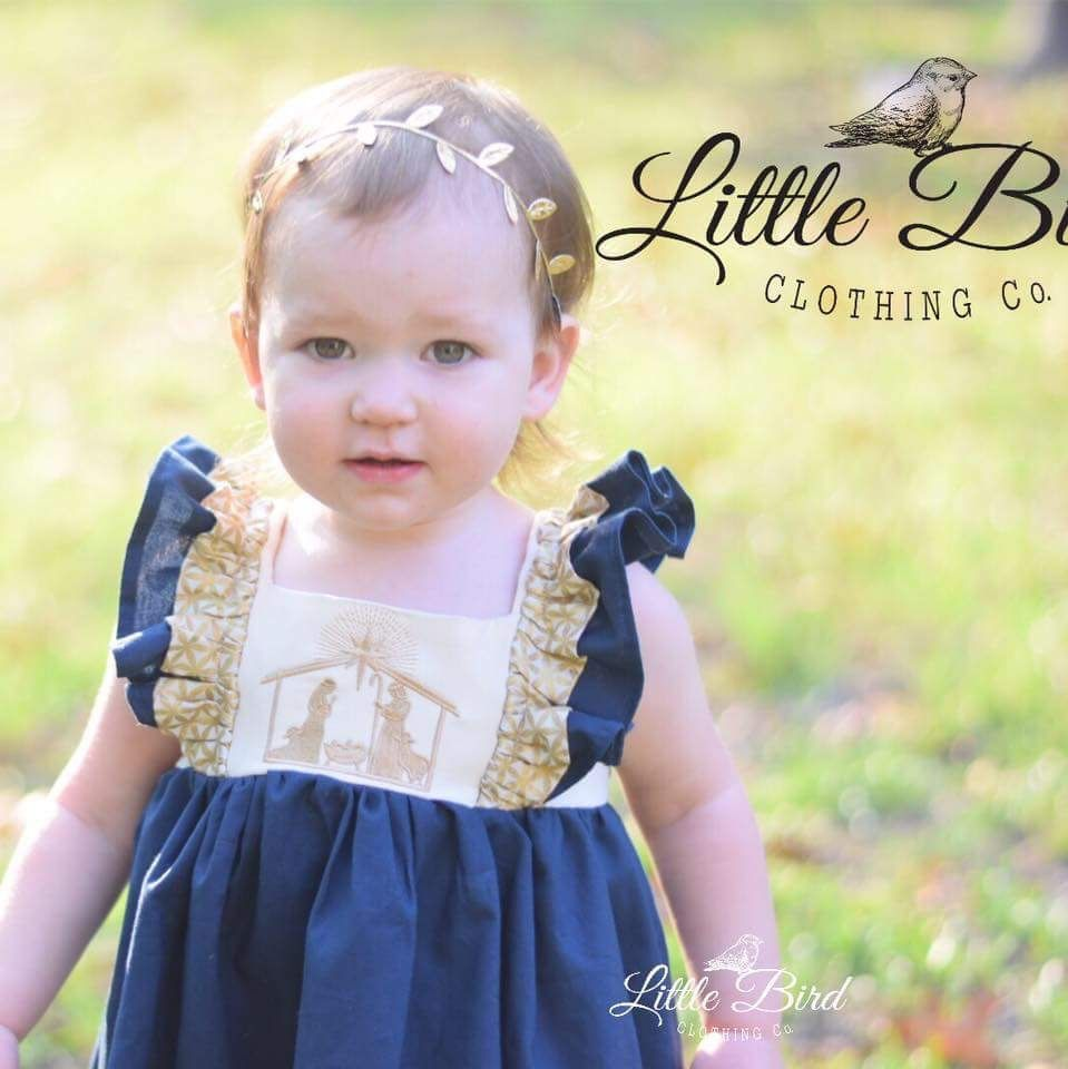Little Bird Clothing Company Nativity Dress 2016 Bird Clothing Little Bird Clothing Flower Girl Dresses