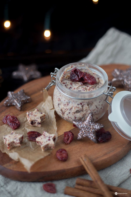 Weihnachtsgeschenke Vegan.Cranberry Butter Last Minute Diy Geschenke Aus Der Küche