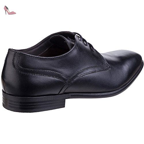 Base London Mens Page Waxy Leather Smart Formal Derby Shoes apyJJpb5