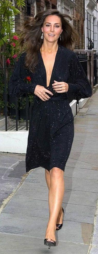 Catherine Middleton Black Dress Lbd Style Kate Middleton