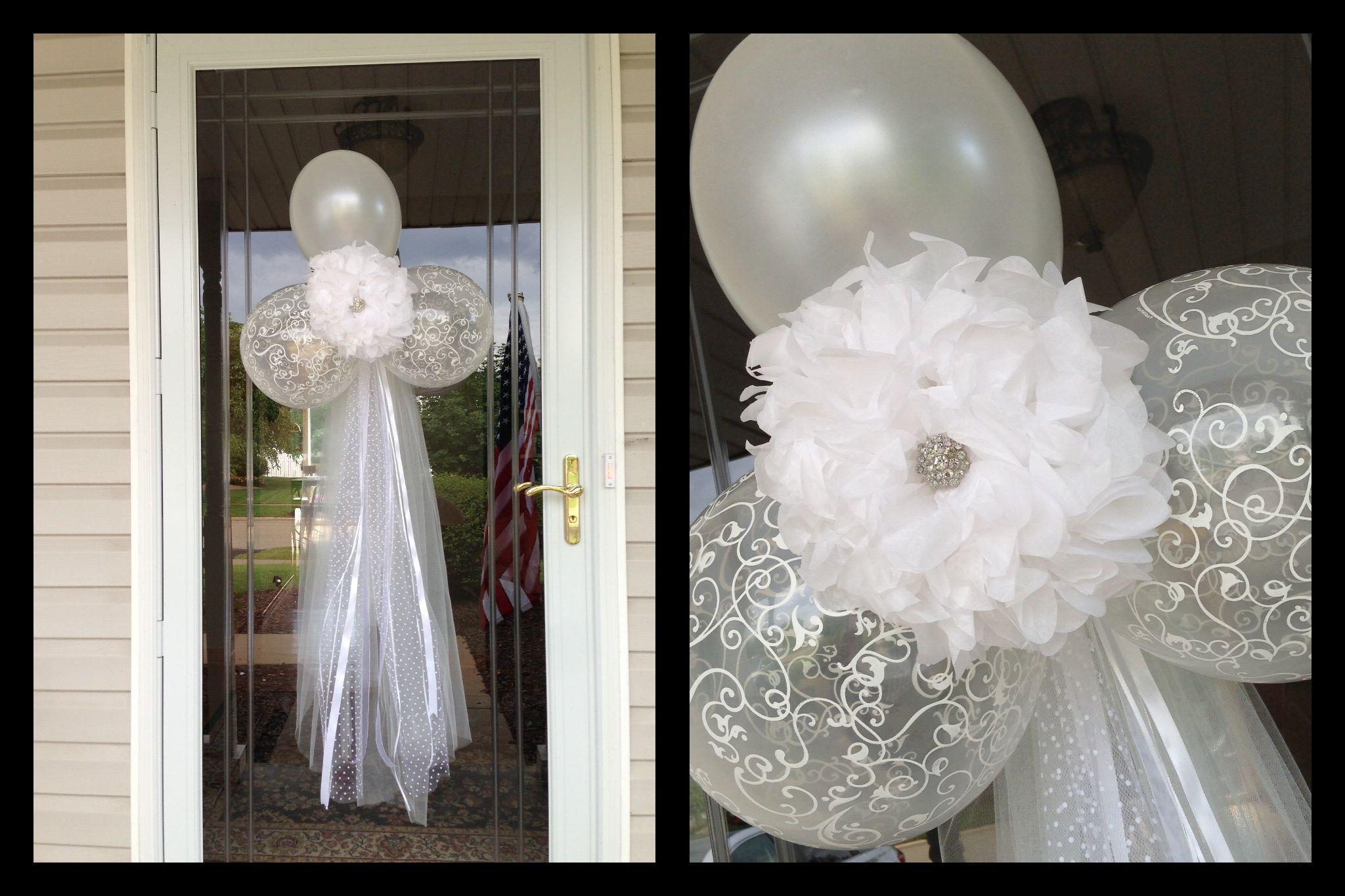 Bridal Shower Front Door Decor Bridal Shower Ideas Pinterest