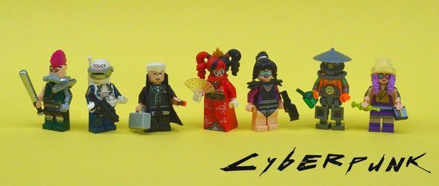 Made some LEGO cyberpunk minifigs. - cyberpunkgame in 2020 ...