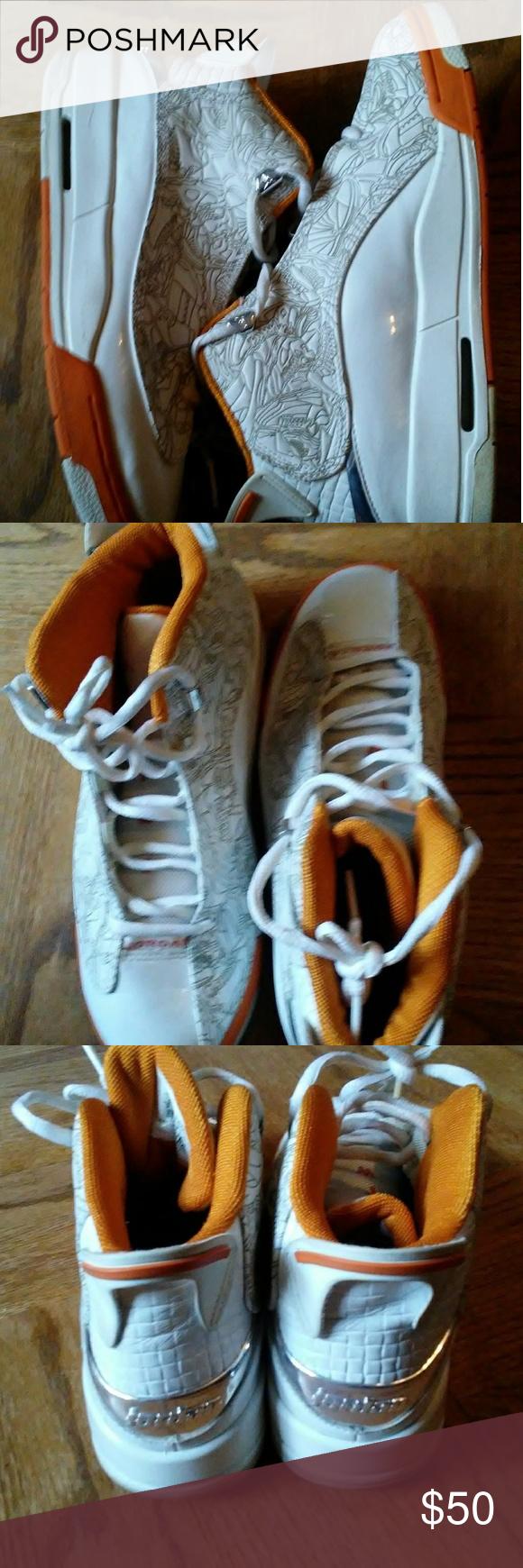 c1dae18560 Nike Air Jordan Dub Zero White/White-Ceramic 31104 Nike Air Jordan Dub Zero  White/White-Ceramic 311047-111 size 6y Jordan Shoes Slippers