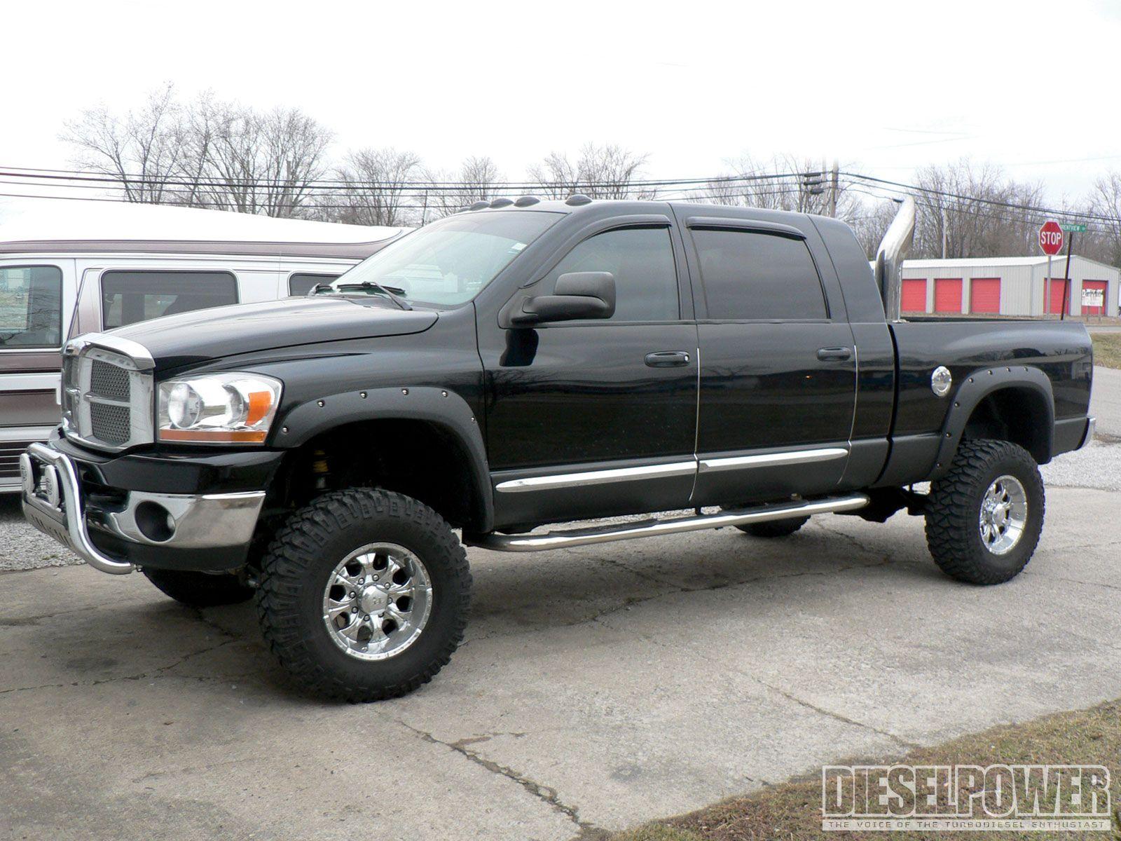 black lifted dodge ram 2500 truck Lifted Trucks