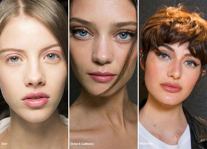 Spring/ Summer 2016 Makeup Trends: Transparent Lipglass