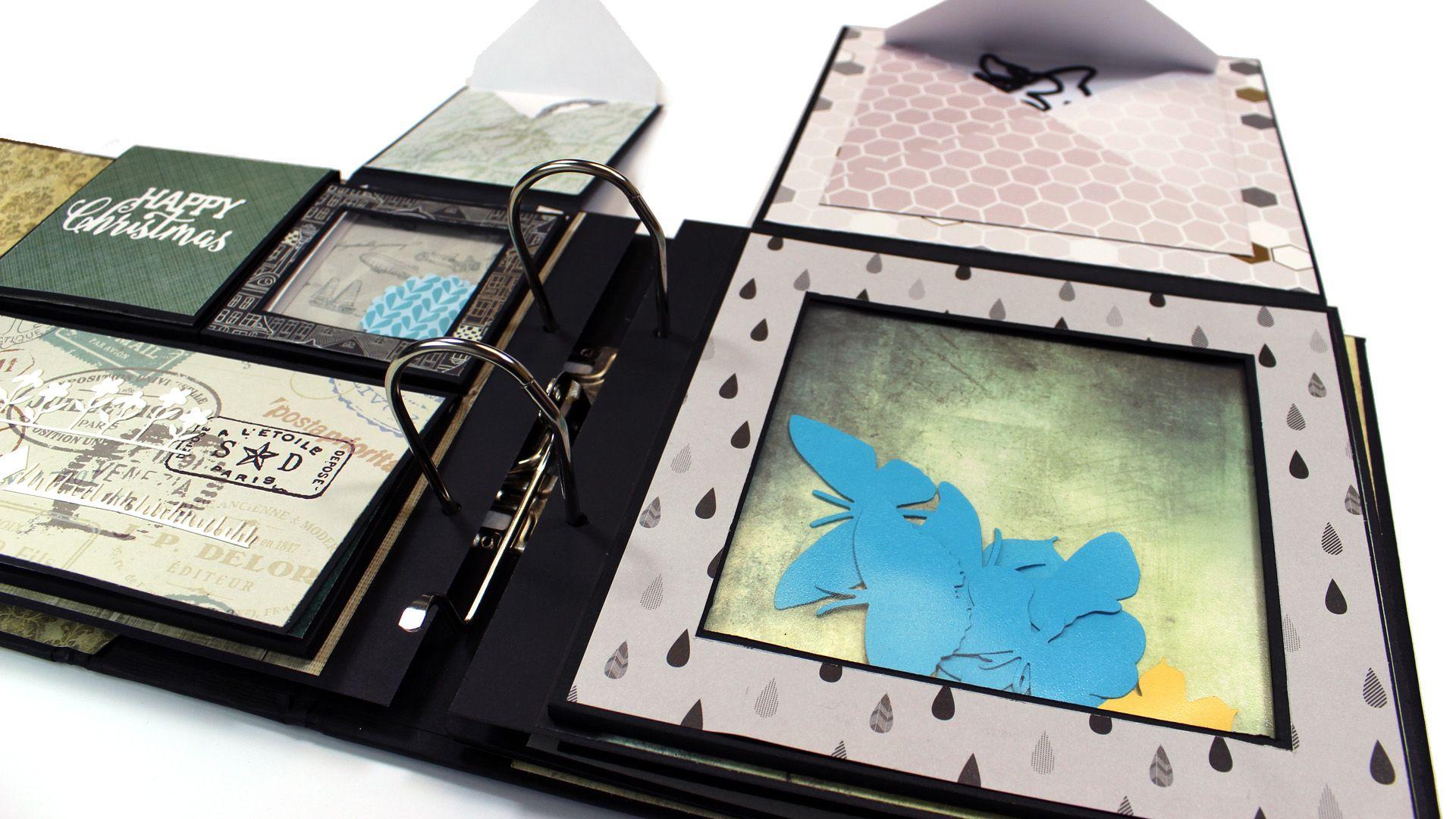 aufbewahrung f r stanzschablonen und stanzteile selber machen scrapbooking paper art. Black Bedroom Furniture Sets. Home Design Ideas