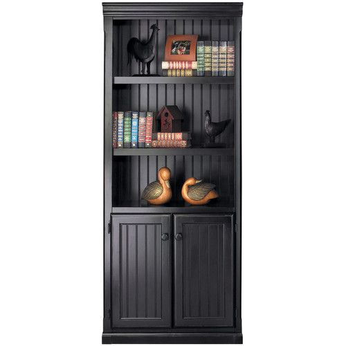 "Found it at Wayfair - Southampton Onyx Lower Door 73"" Standard Bookcase"