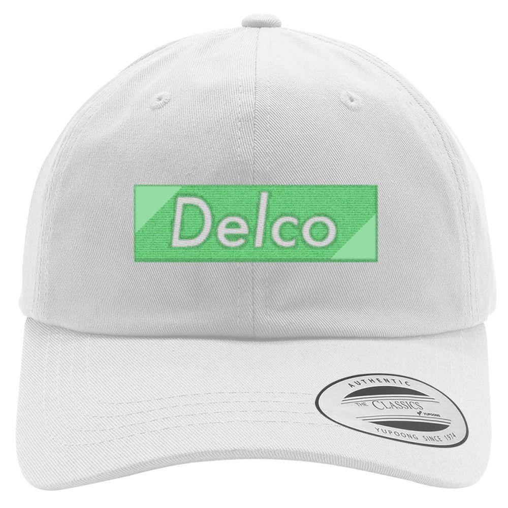 243f3a84a38 Delco Premium Embroidered Cotton Twill Hat