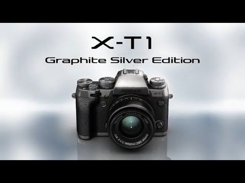 Download Drivers: Fujifilm X-T1 Graphite Silver Edition Camera