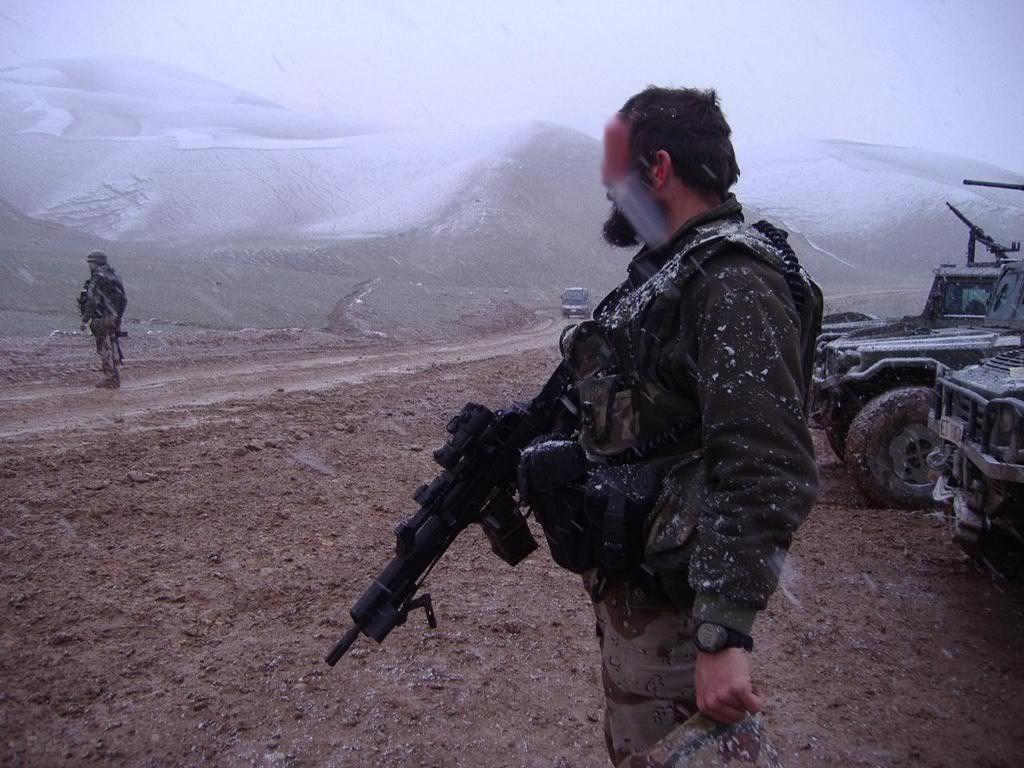 Member of spanish Grupo de Operaciones especiales GOE