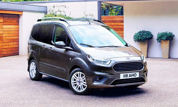 Ford Tourneo Courier Facelift 2018 Motor Preis Autozeitung De Ford Ford Tourneo Connect Neue Autos
