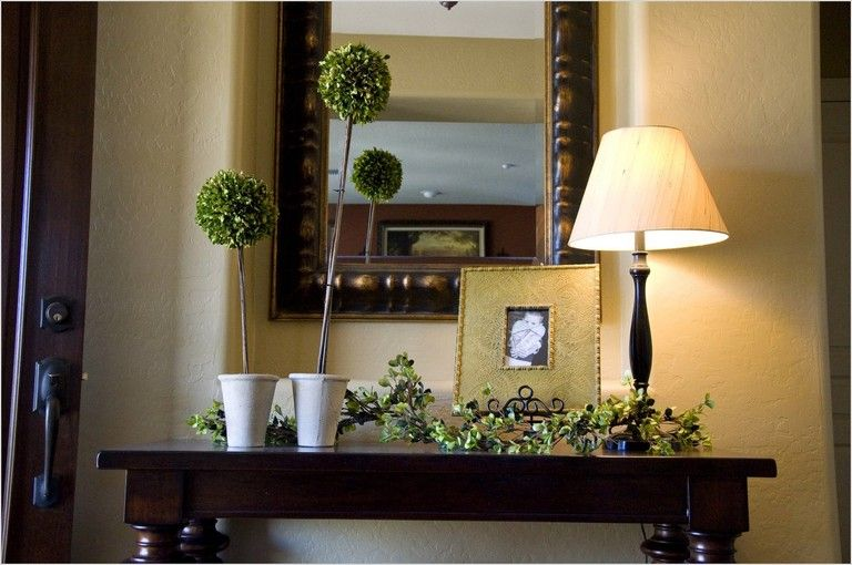 30 lovely small foyer decorating ideas that will make on ideas for decorating entryway contemporary wall mirrors id=52750