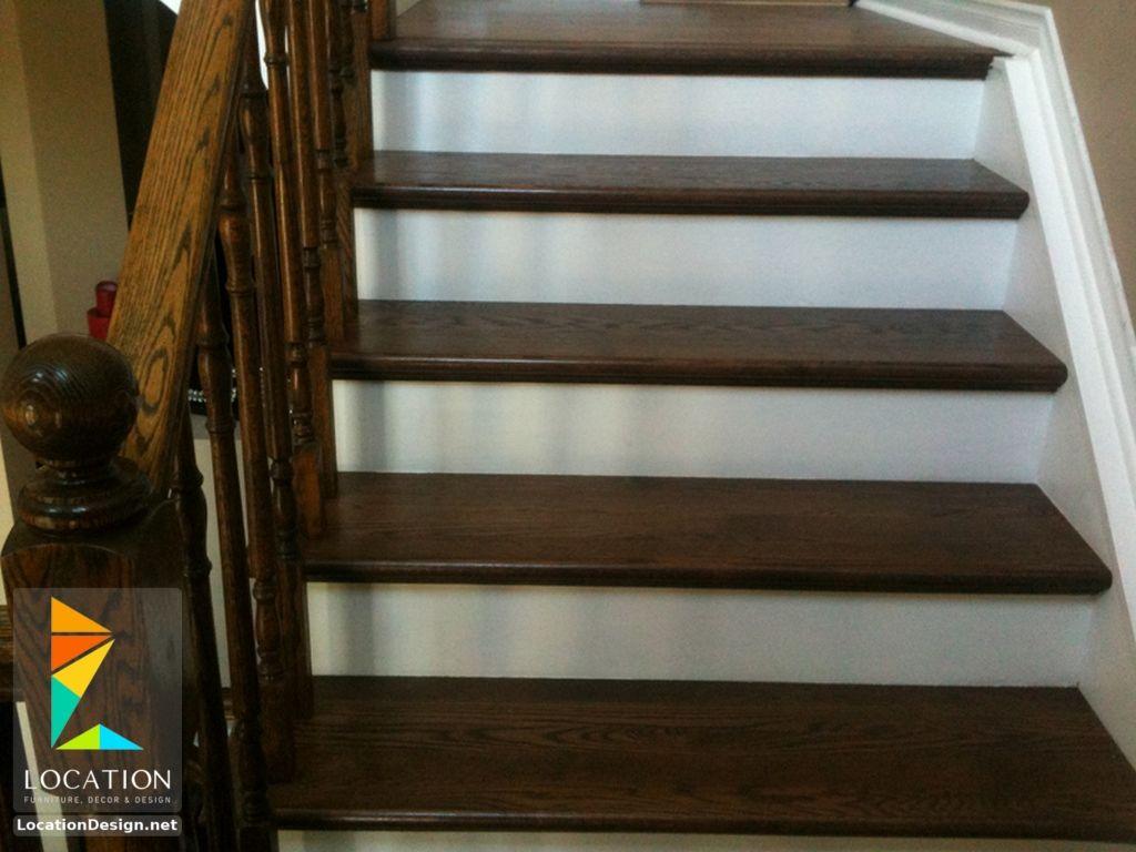 صور درابزين درج للفلل والدوبليكس بأحدث الاشكال ميكساتك Staircase Railing Design Staircase Design Railing Design