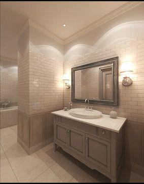 beige bathrooms design ideas, pictures, remodel, and decor