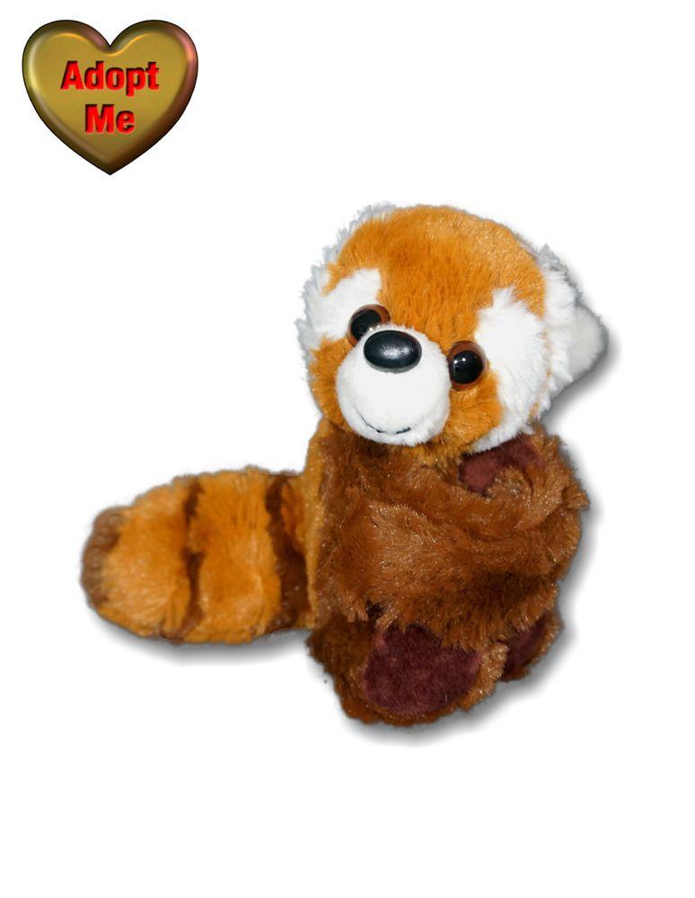 Best Stuffed Animals For Boy, Wild Republic Wearable Red Panda Wrist Hugger Slap Bracelet Stuffed Plush Animal Wildrepublic In 2020 Plush Animals Vintage Plush Plush Stuffed Animals
