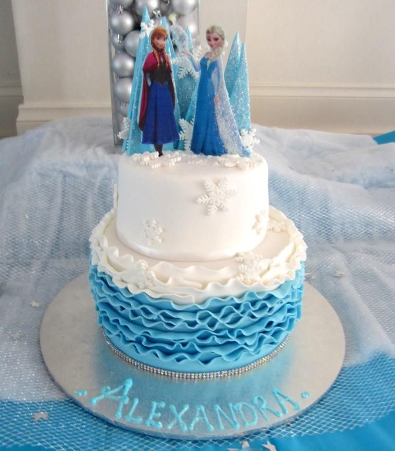 Disneys Frozen Birthday cake frozen frozencakes elsa melbourne