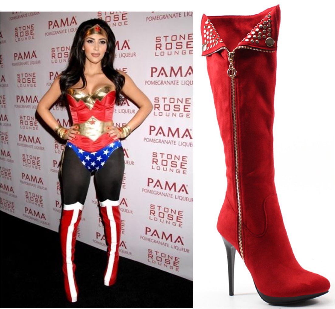 Wonder Woman in #Luichiny Party Town #boot! #heels #halloween ...