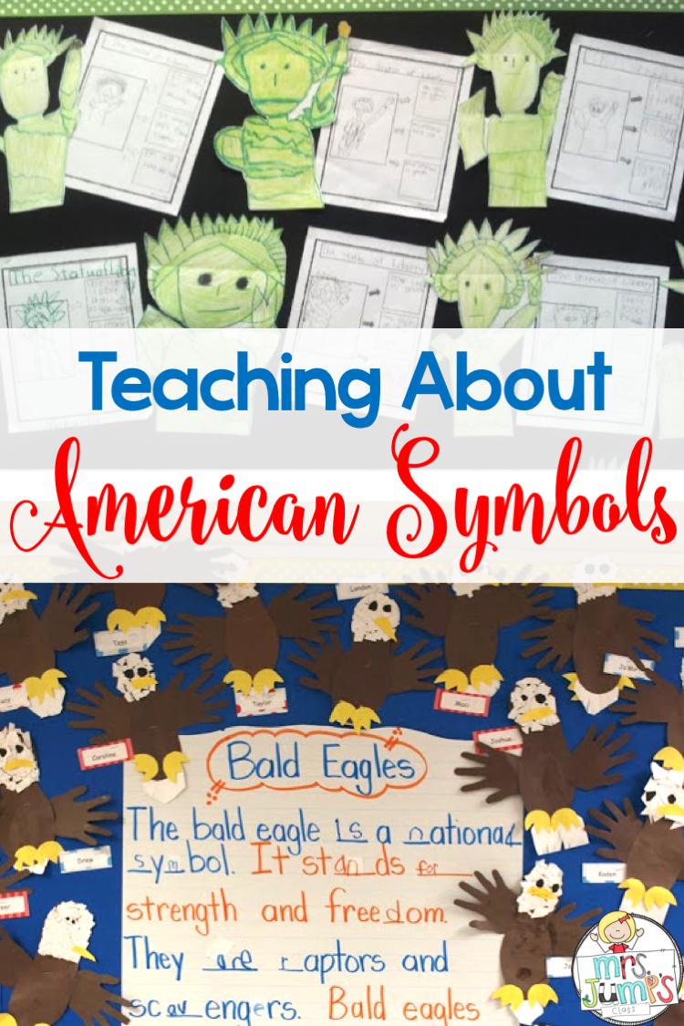 small resolution of American Symbols \u0026 Presidents {Includes FREE Download}   American symbols  kindergarten