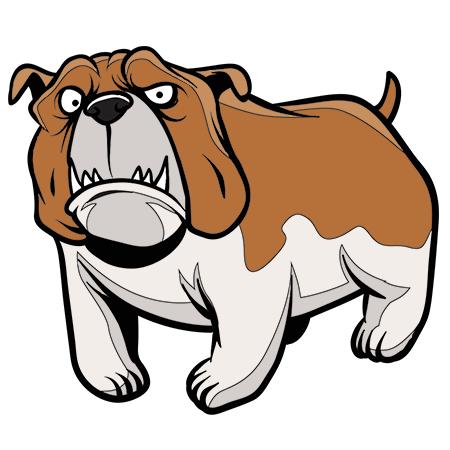 Coloriage chien bouledogue a imprimer dessin colorier et - Dessin bebe chien ...