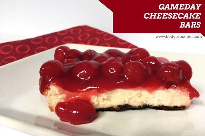 Falcons GameDay Cheesecake Bars