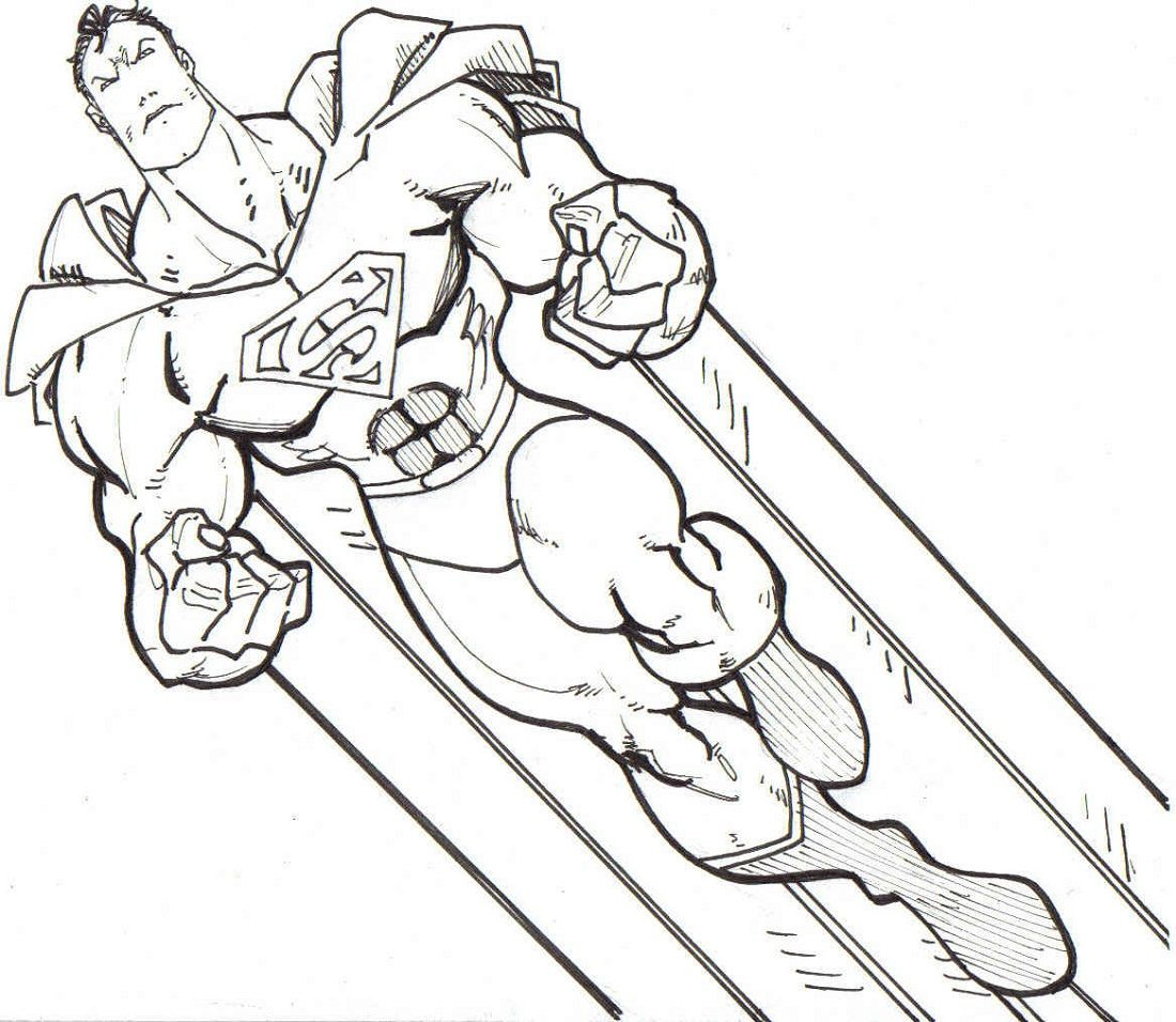 Coloring Book Pages Printable Superhero Coloring Pages Superman Coloring Pages Superhero Coloring