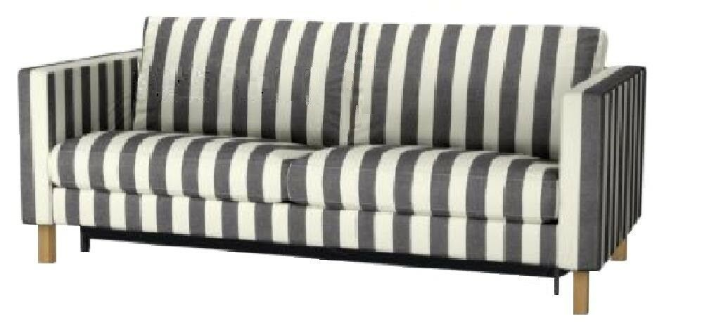 Awesome Ikea Karlstad Sofabed Slipcover Rannebo Black White Sofa Short Links Chair Design For Home Short Linksinfo