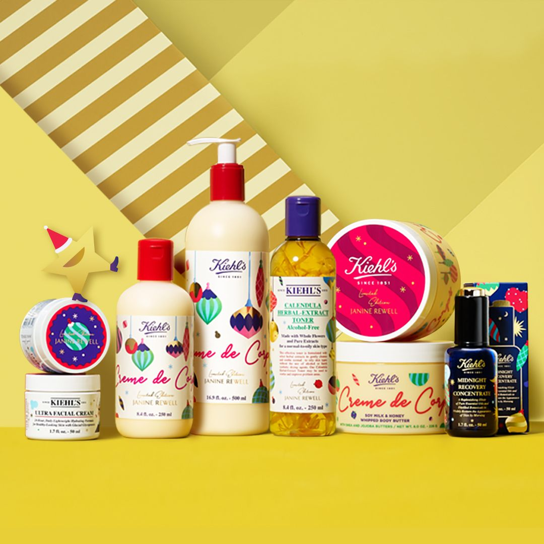 Kiehls holiday skincare 2019 image by kiehls holiday