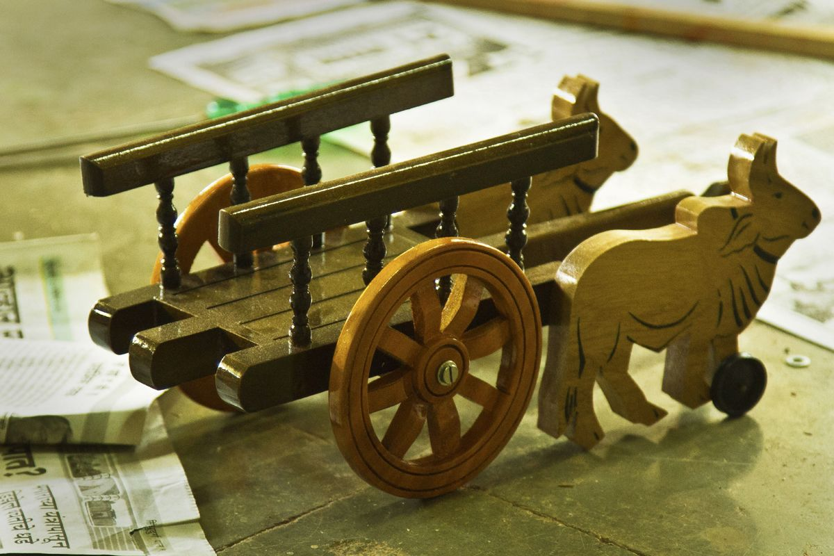 products | wooden toys sawantwadi | wooden toys, bullock