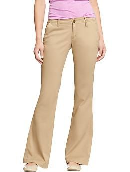 016eaac61f08b Women's The Diva Super-Flare Khakis | Old Navy Size12 Tall in the Rolled  Oats color please!