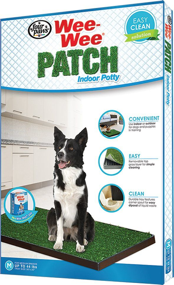 The Wee Wee Patch Provides A Convenient Way To Train Your Pet For