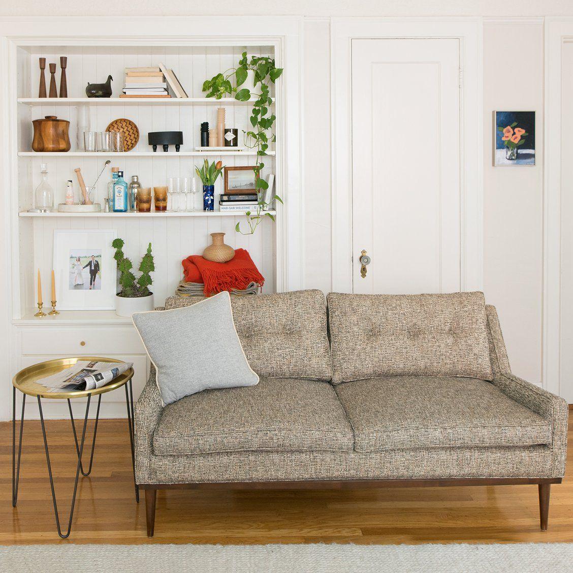 Remarkable Jack Loveseat Nubby Tweed Living Custom Made Furniture Forskolin Free Trial Chair Design Images Forskolin Free Trialorg