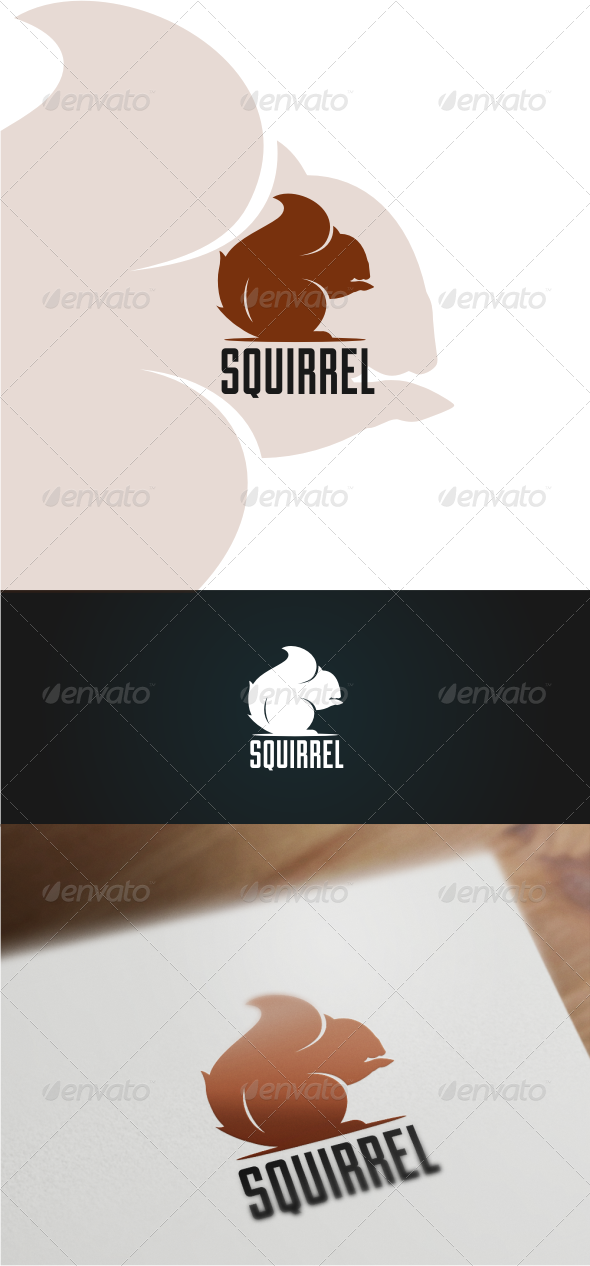 Squirrel Logo Templates Logo templates, Simple logo