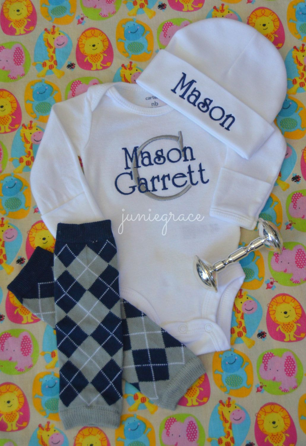 676e6682d Newborn Baby Boy Coming Home Outfit Baby Boy Clothes Take Home ...