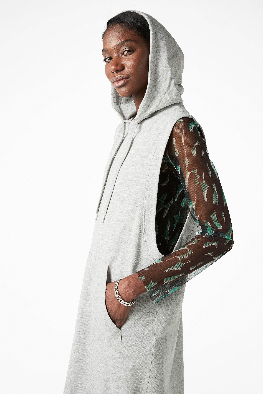 Sleeveless hoodie dress kledjut pinterest hoodie dress