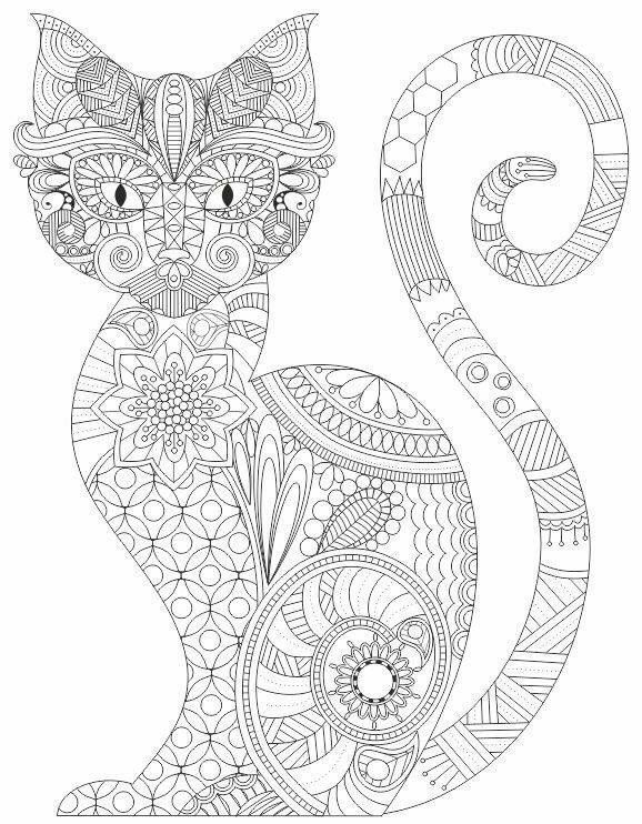 Ажурные трафареты котов Coloring Pages Pinterest Stenciling - new advanced coloring pages pinterest